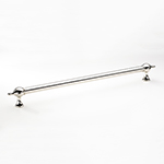"15-1/8"" Belgrave Pull in Polished Nickel"