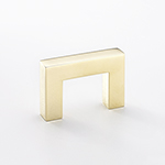 Bromsgrove Finger Pull In Polished Brass