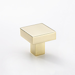 "1-1/4"" Bromsgrove Knob in Polished Brass"