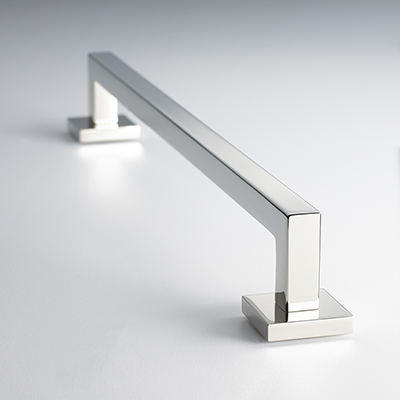 Bromford Cabinet Pull in Polished Nickel