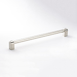 "9-1/2"" Carlton Pull in Polished Nickel"