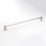 "12-11/16"" Carlton Pull in Polished Nickel"