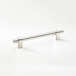 "GAU-160 8-7/16"" Gaumont Pull in Polished Nickel"
