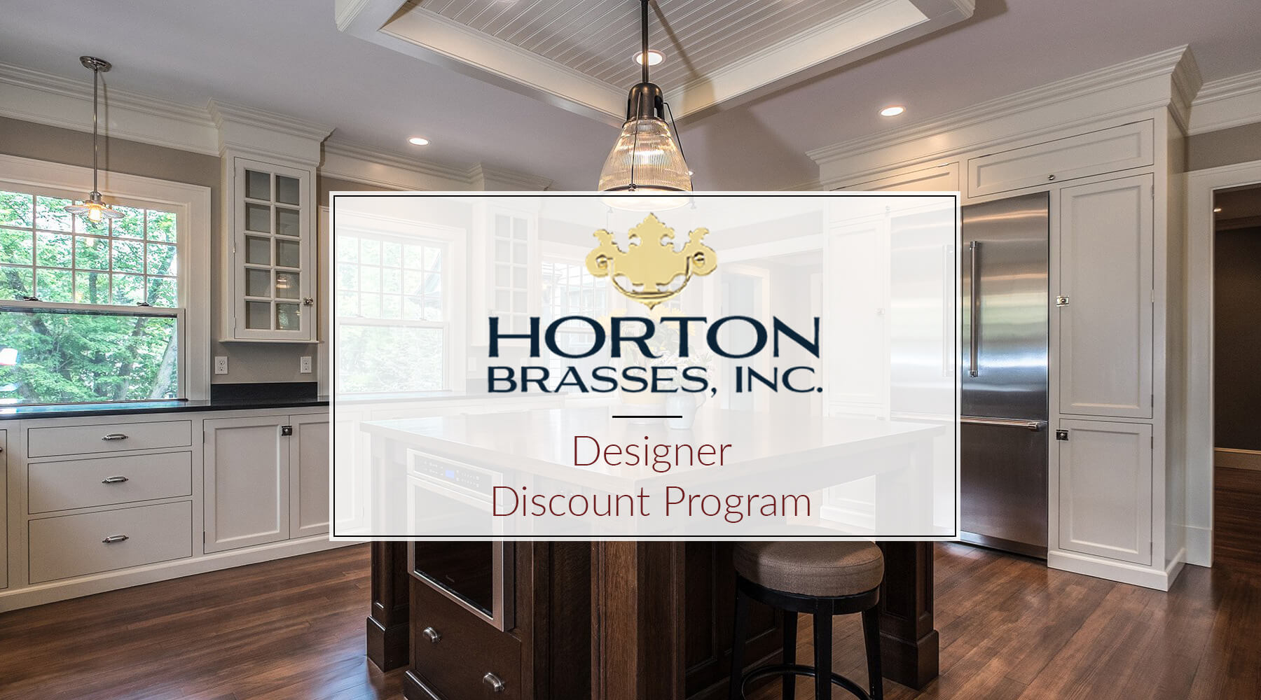Designer Discount Program Horton Brasses