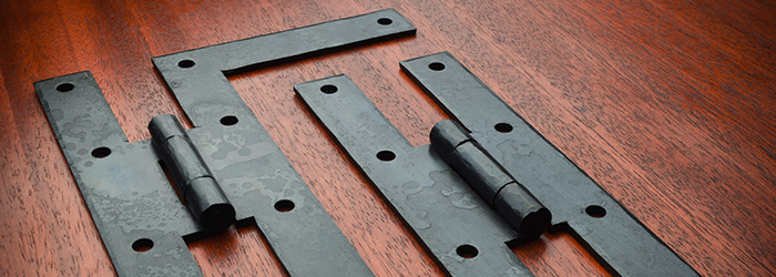 Hand Forged Iron Hinges