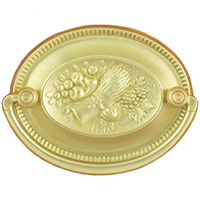 H-4 Wheat and Fruit Hepplewhite Drawer Pull
