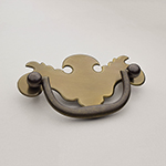 "H-15S 2-1/2"" Chippendale Drawer Pull"