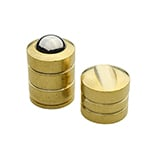 BC-275 Plain Brass Ball Catch