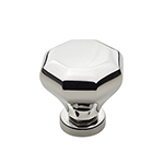"1-1/4"" Burbridge Polished Nickel Knob"