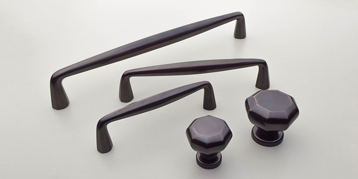 Burbridge Pulls in Oil Rubbed Bronze