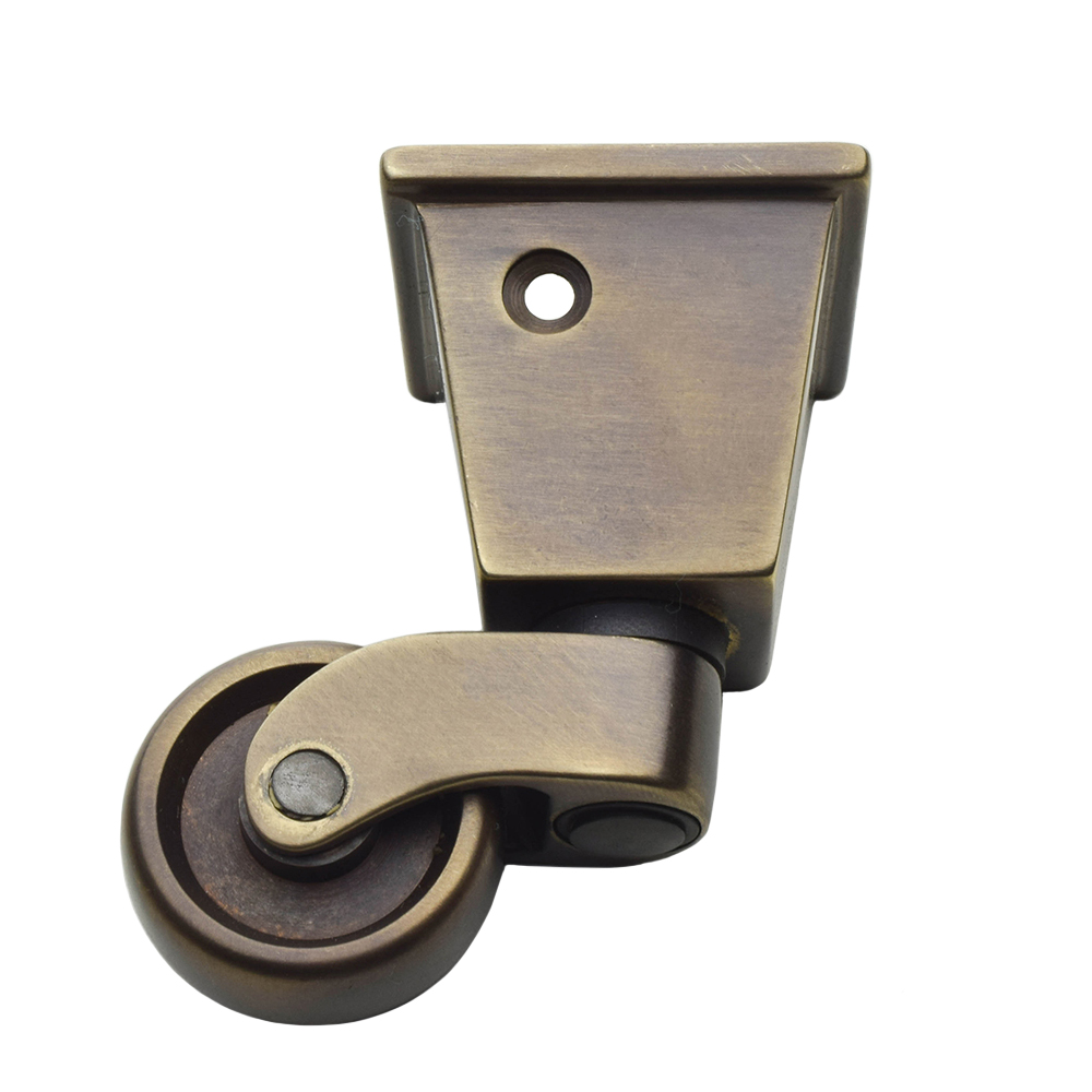 4 x Round Furniture Caster Cups Outer Dimension 54 mm 2.1//8 inch Small Brown