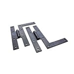 "HF-8 6"" Wrought Iron HL Hinge"