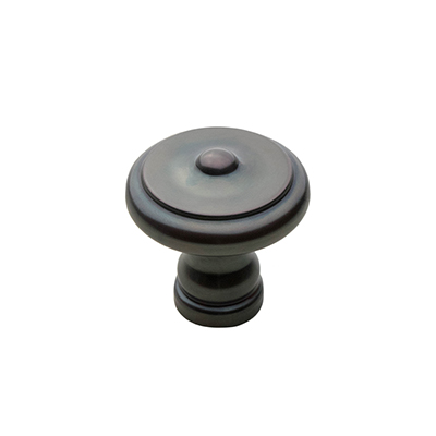 "HTK-2 1-1/4"" Heritage Knob in Oil Rubbed Bronze"