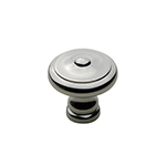 "1-1/4"" Heritage Polished Nickel Knob"