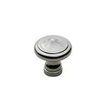 "1"" Heritage Polished Nickel Knob"