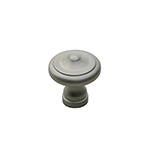 "1"" Heritage Satin Nickel Knob"