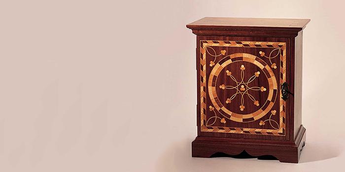 Small box hardware featured on Glen Huey's Pennsylvania Spice Box.