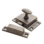 solid brass pantry latches