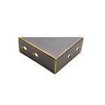 TH-11B Solid Brass Box Corner