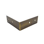 TH-1B Brass Corner Bracket