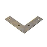 TH-5B Brass Flat L Bracket