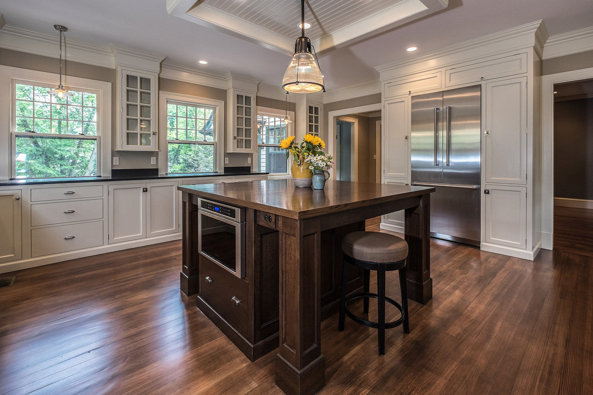 Transitional Kitchen designed by Kennebec Company