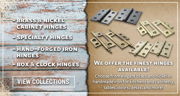 We offer the best quality of hinges out there!
