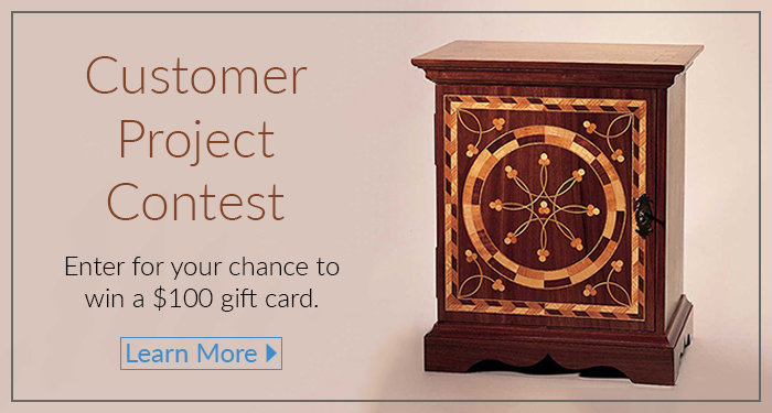 Earn a chance to win $100 from our Customer Project Contest hosted by Horton Brasses, Inc
