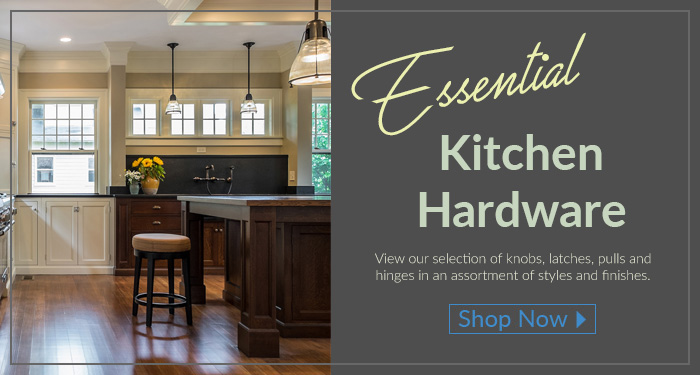 Get the best of our essential kitchen hardware