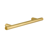 "MH-HX-1 6-5/16"" Hexad Polished Brass Bar Pull"