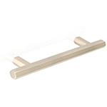 "MH-HX-1 6-5/16"" Hexad Satin Nickel Bar Pull"