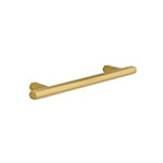 "MH-HX-2 5"" Hexad Brushed Brass Bar Pull"