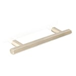 "MH-HX-2 5"" Hexad Satin Nickel Bar Pull"