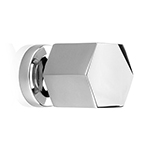 "MH-HXK-1 1-1/8"" Bright Chrome Knob"