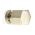 "MH-HXK-1 1-1/8"" Hexad Satin Nickel Knob"