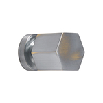 "MH-HXK-1 1-1/8"" Weathered Chrome Knob"