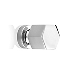 "MH-HXK-3 3/4"" Bright Chrome Knob"