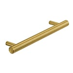 "MH-MON-1 12"" Brushed Brass Monaco Pull"