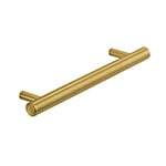 "MH-MON-2 8-13/16"" Brushed Brass Monaco Pull"
