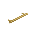 "MH-MON-4 6-5/16"" Brushed Brass Monaco Pull"