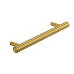"MH-MON-APP-1 12"" Brushed Brass Monaco Appliance Pull"