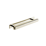 "MH-WP-2 5"" Polished Nickel Wright Perla Bar Pull"
