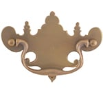 "H-80 4"" Large Chippendale Drawer Pull"
