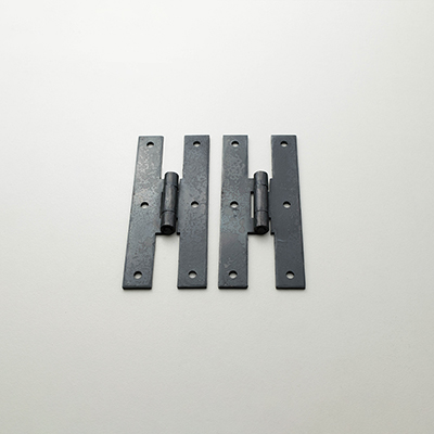"HF-7 4"" Wrought Iron H Hinge"