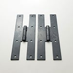 "HF-7 7"" Wrought Iron H Hinge"