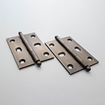 PB-410B Solid Brass Butt Hinge with Ball Tips