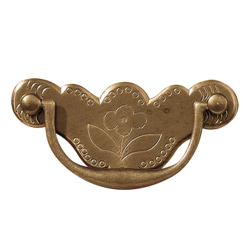 "QA-2 2-1/2"" Early Queen Anne Drawer Pull"