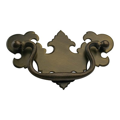 "H-34 3-1/4"" Chippendale Drawer Pull"