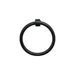 HF-52 Large Black Iron Ring Pulls