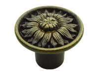 Hand Cast Brass Knobs